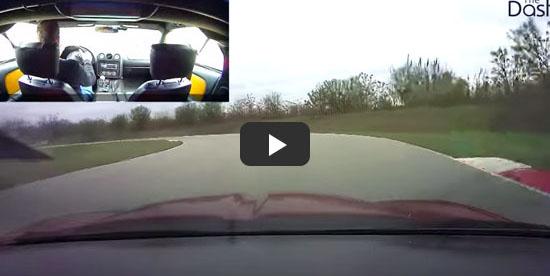 BlackVue DR650GW-2CH Race Track Footage
