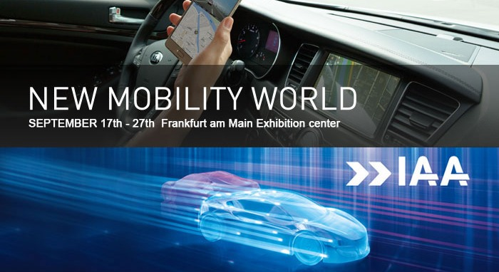 Come Visit Us at IAA Cars 2015 in Frankfurt