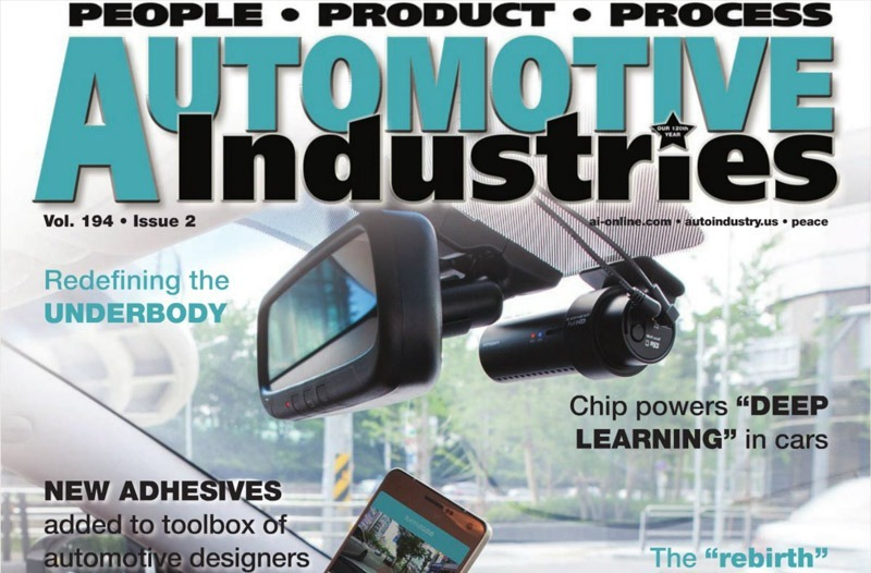 BlackVue Featured in Automotive Industries