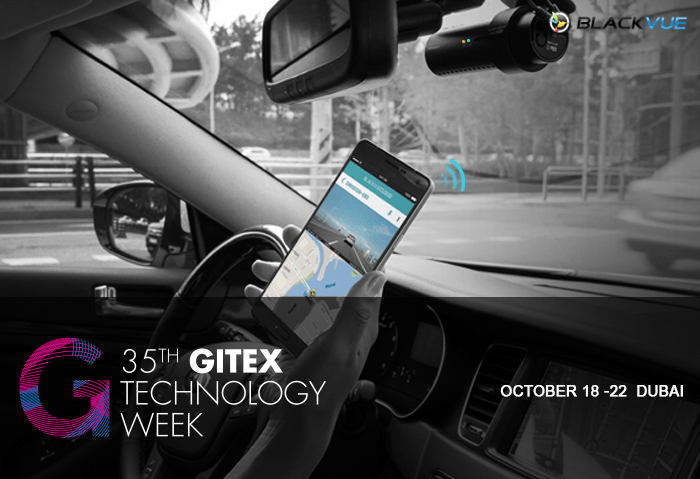 Visit the BlackVue Booth At GITEX Technology Week 2015 in Dubai