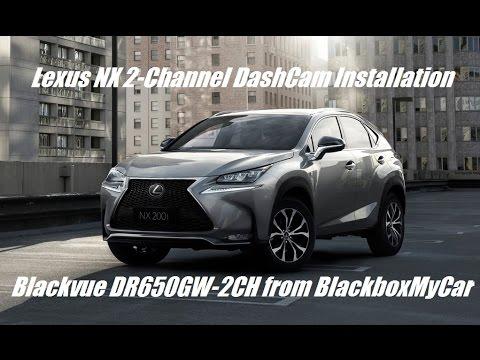 [Installation] BlackVue DR650GW-2CH on Lexus NX SUV