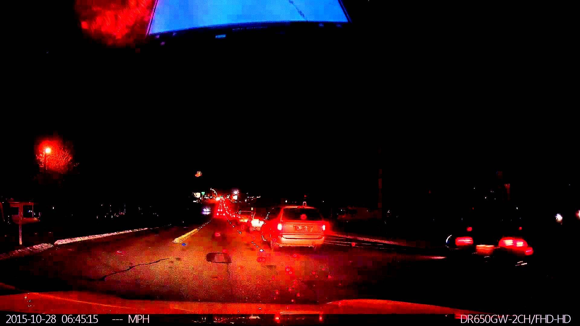 Tesla Autopilot Saves the Day – Caught On BlackVue DR650GW Series Dashcam!