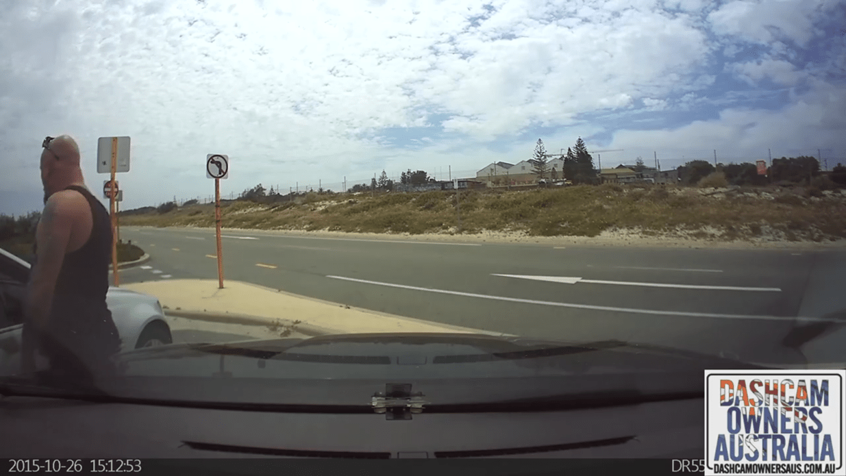 BlackVue Parking Mode Catches Car Thief