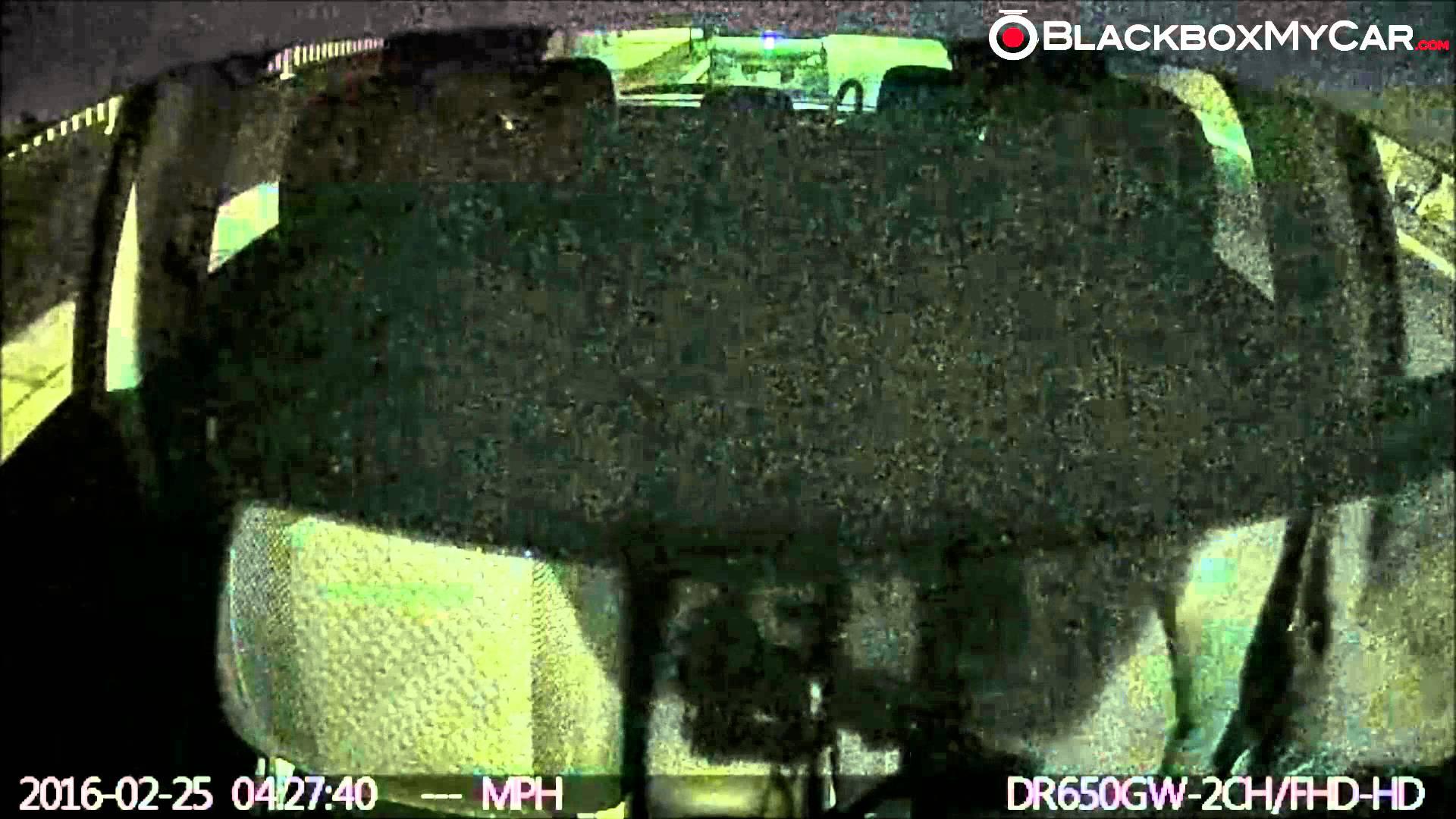 Vehicle Break-in Caught on BlackVue Dashcams