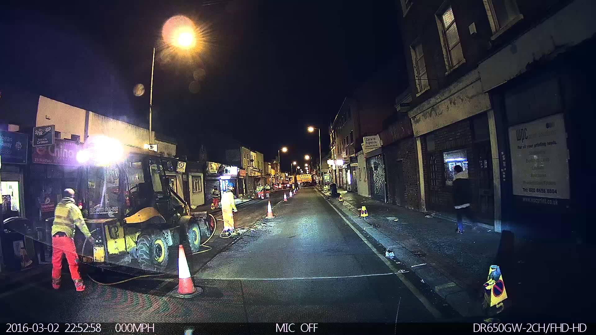 Drunk Pedestrian Walking into Moving Car