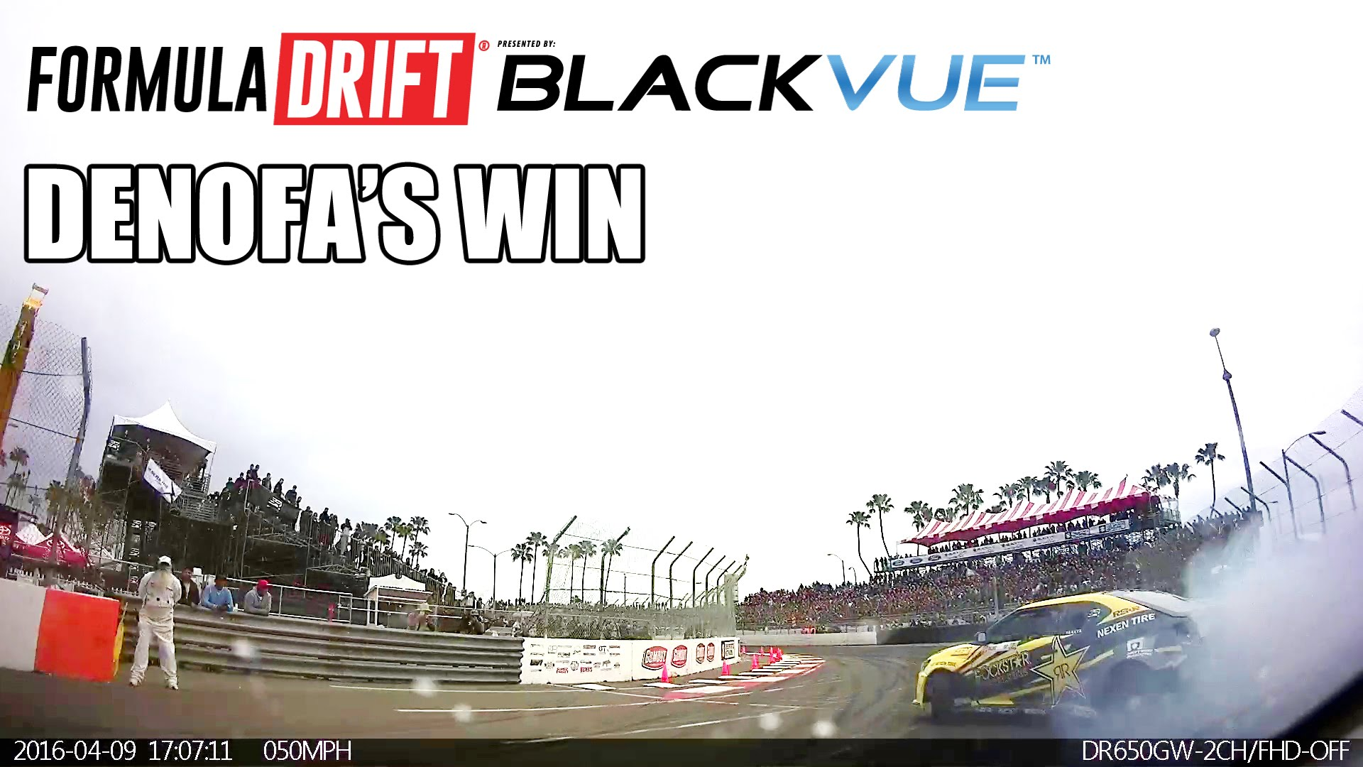 [BlackVue Footage] Relive Denofa's Decisive Race Against Aasbo in Long Beach