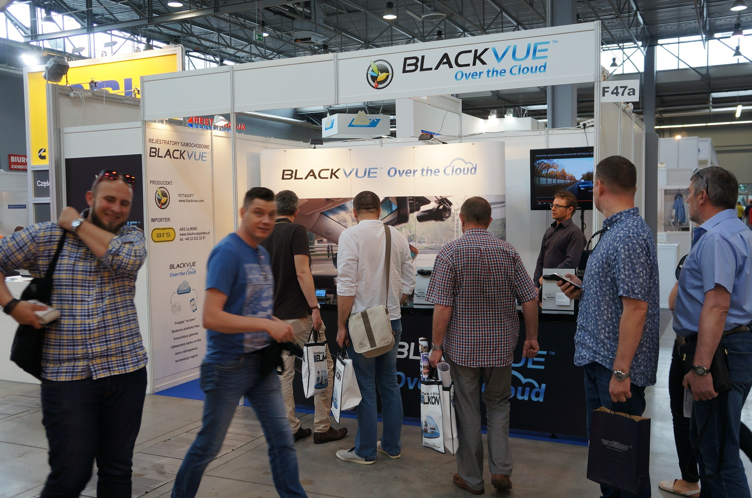 BlackVue at the 7th International Fair of Road Transport – Commercial Vehicles ROTRA in Poland