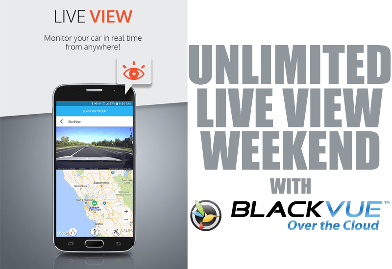 Unlimited Live View for Everyone This Weekend!