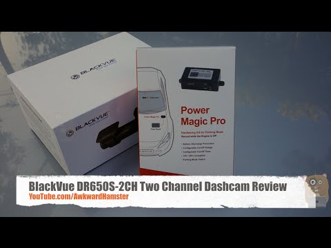 Unboxing & In-Depth Video Review of BlackVue DR650S-2CH