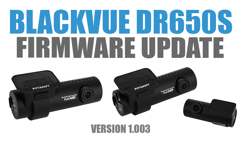 [Firmware Update] DR650S-1CH/2CH (v.1.003)