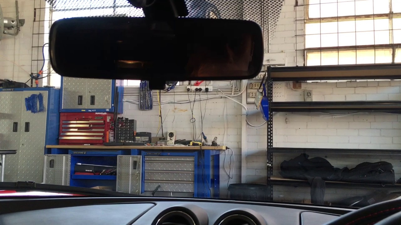 Dashcam Installation in Lotus Evora