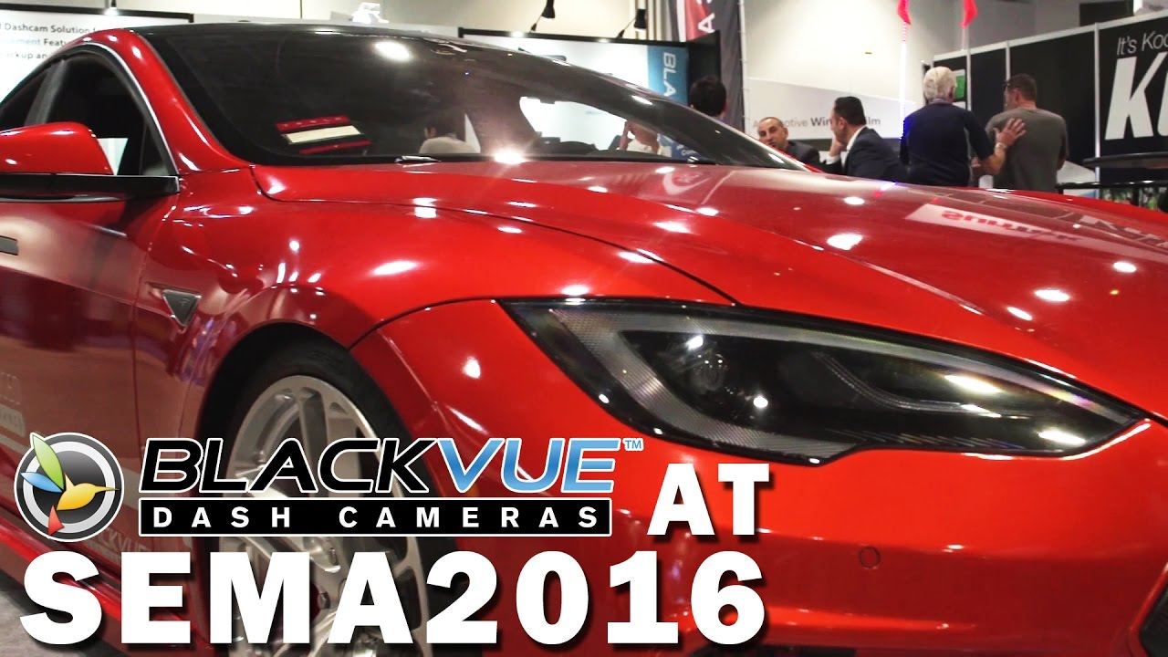 BlackVue at SEMA Show 2016 Wrap-Up Video