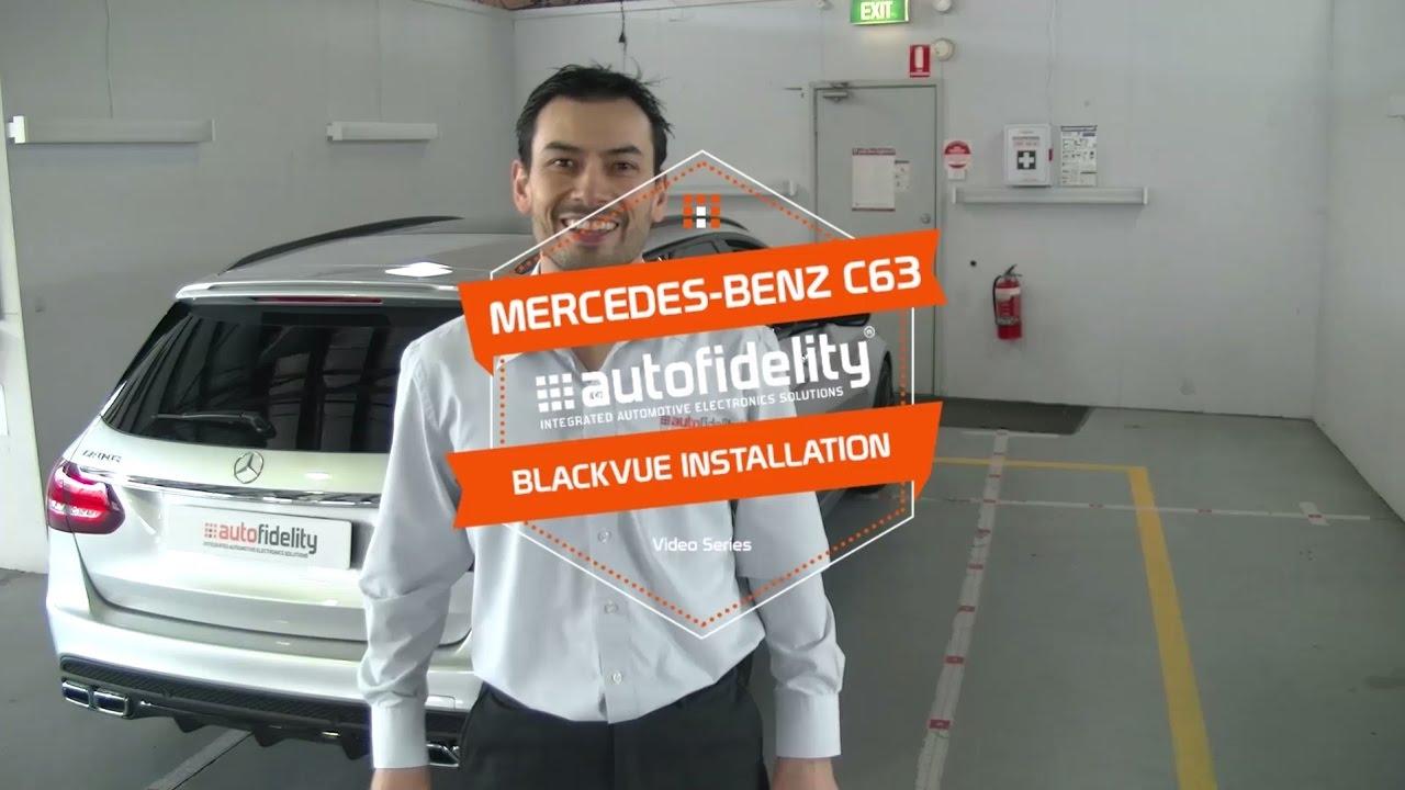 [Dashcam Installation] DR650S-2CH Detailed Install in Mercedes-Benz C63 AMG