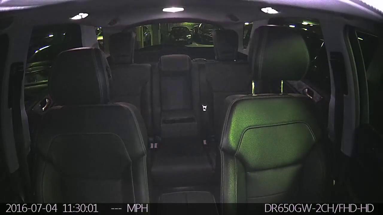 Break-in Caught On Dashcam with Interior IR Camera