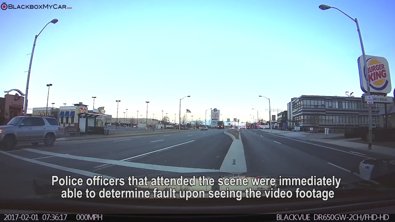 Intersection Accident Caught on Dashcam