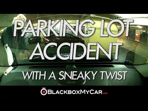 Accident Caught on BlackVue Dashcam in Parking Mode