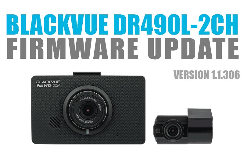 [Firmware Update] DR490L-2CH Firmware v1.1.306