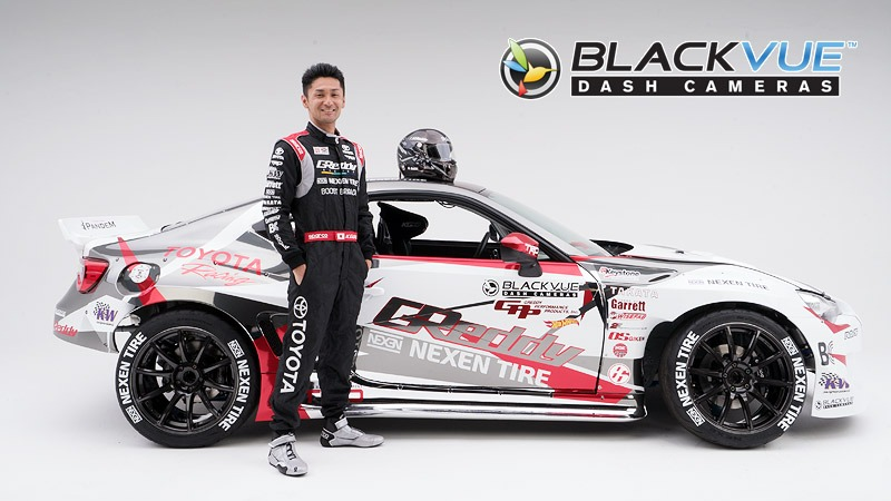 [Press Release] BlackVue Sponsors Formula Drift Driver Ken Gushi and GReddy Racing