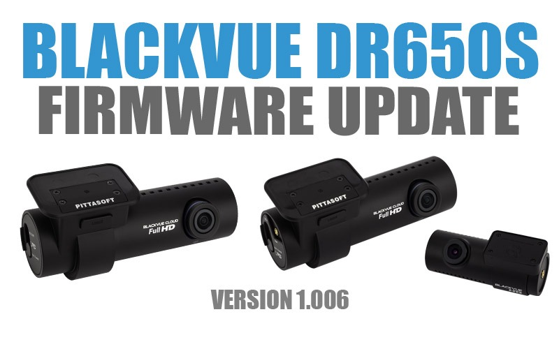 [Firmware Update] DR650S Series Version 1.006