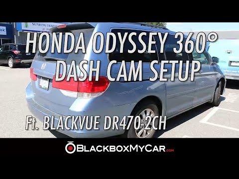 4-Channel BlackVue Dashcam Setup In Minivan