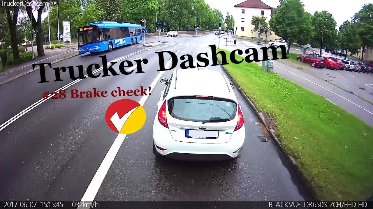 Trucker Dashcam Compilation no.28 featuring 4-Way BlackVue Setup