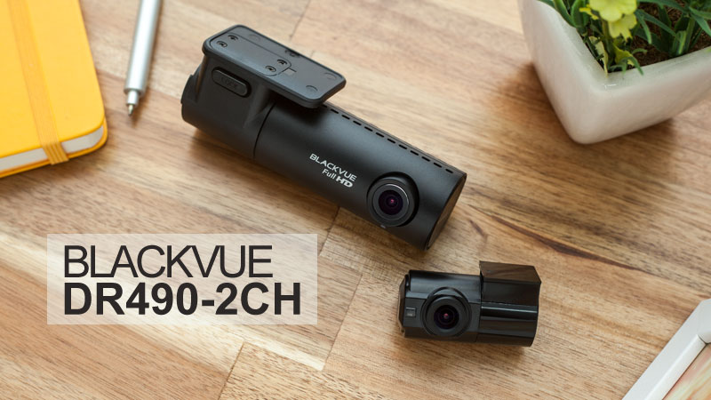 [News] BlackVue DR490-2CH Dual Full HD Dashcam Available For Preorder