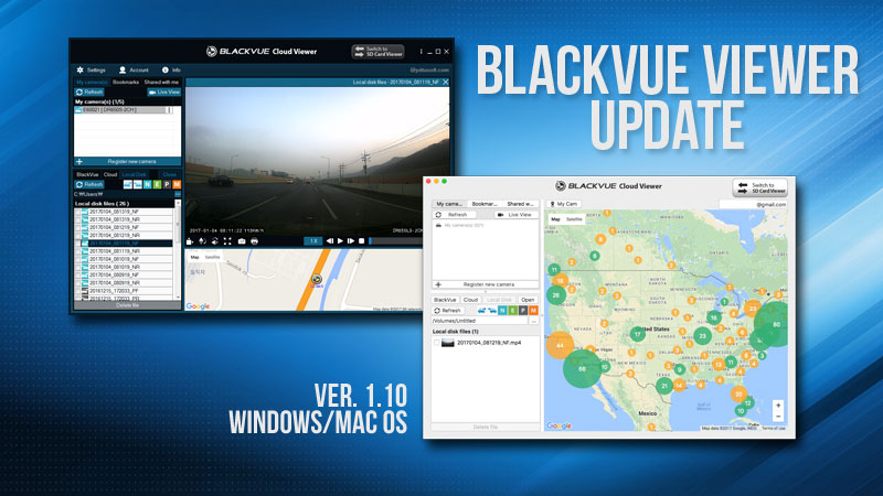 BlackVue Viewer Update – Version 1.10