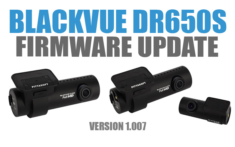 [Firmware Update] DR650S Series Version 1.007