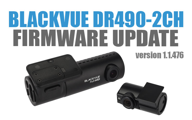 [Firmware Update] DR490-2CH Firmware v1.1.476