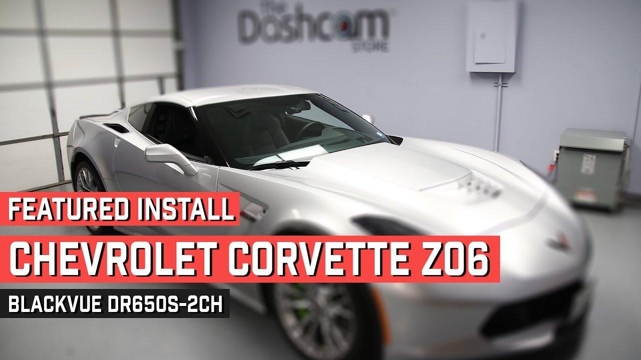 BlackVue Dashcam Installed In Corvette Z06