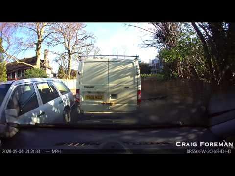 Hit And Run Captured By BlackVue Dashcam