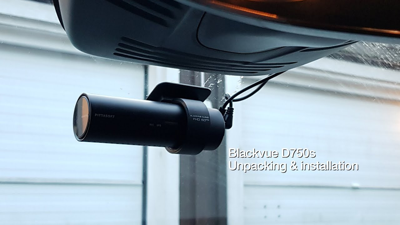 Blackvue DR750S-2CH Unboxing and Installation in a Volvo V60
