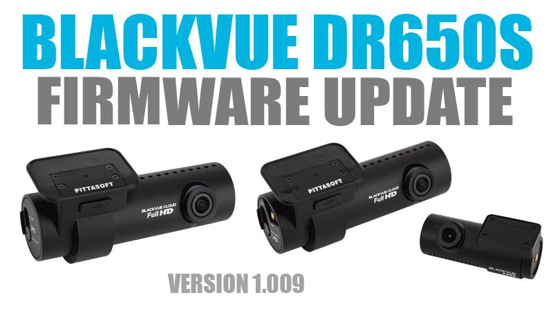 [Firmware Update] DR650S Series Version 1.009