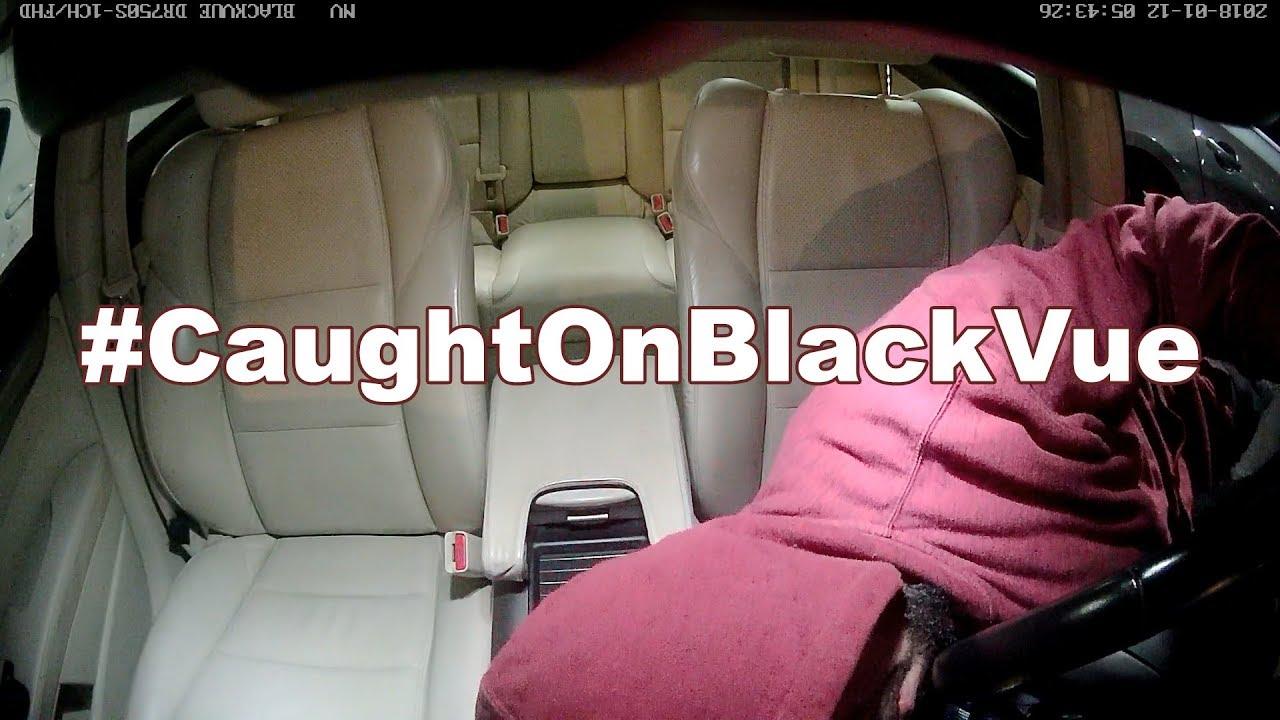 [Caught On BlackVue] Airbag Thief Caught On Dashcam