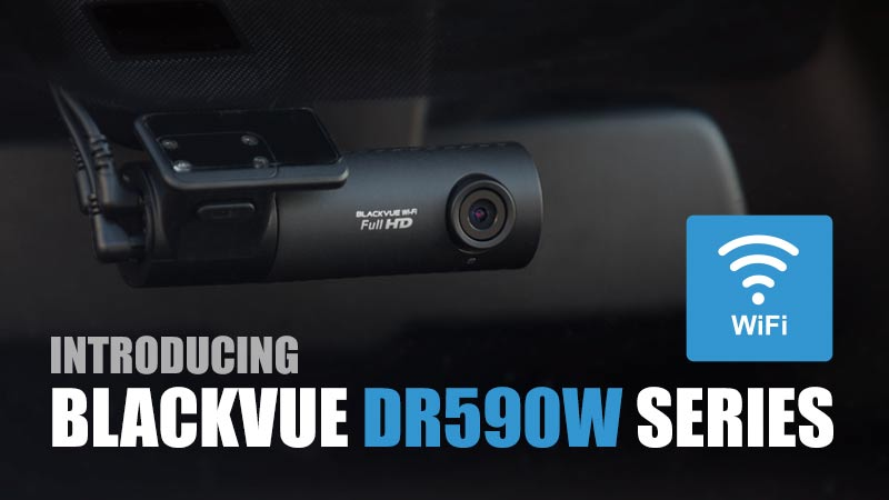 [Product Release] New DR590W Series: Simple Wi-Fi Dashcam