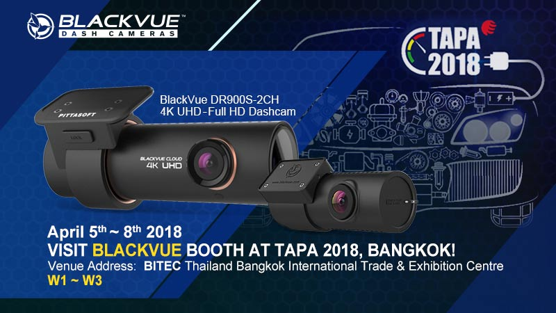 [Trade Show] Visit BlackVue At Thailand Auto Parts & Accessories 2018