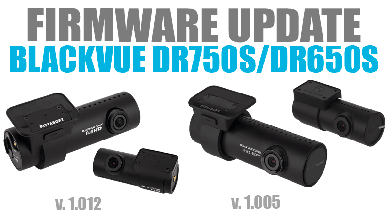[Firmware Updates] DR750S (1.005) and DR650S (1.012)