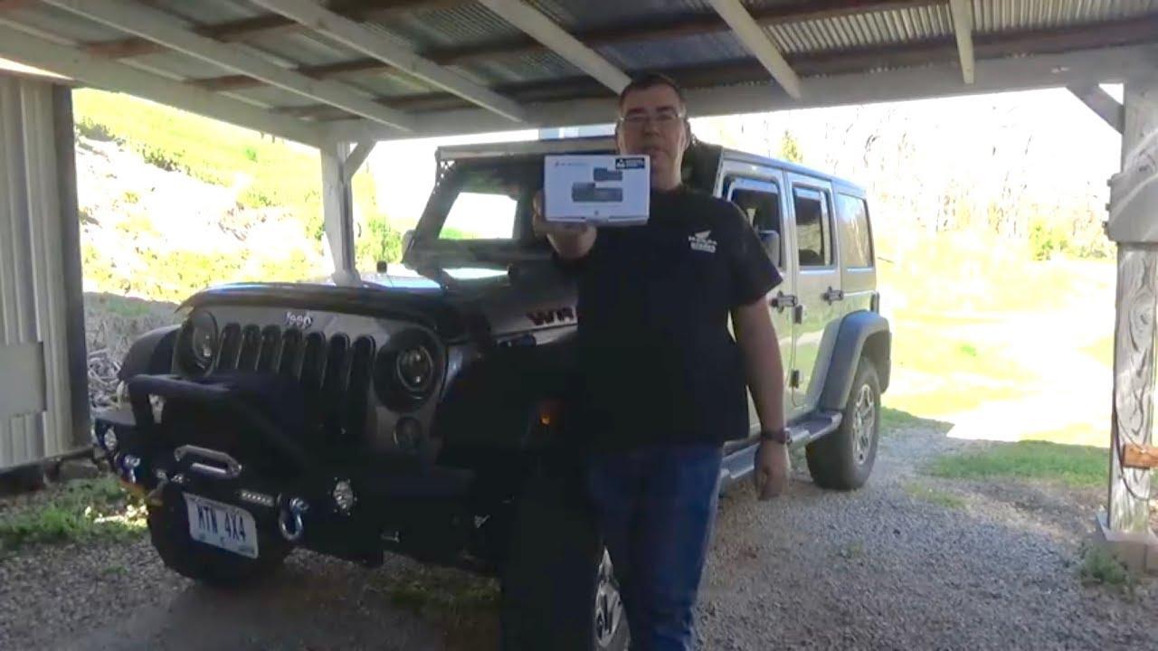 DR590W-2CH IR Installation in Jeep Wrangler JKU