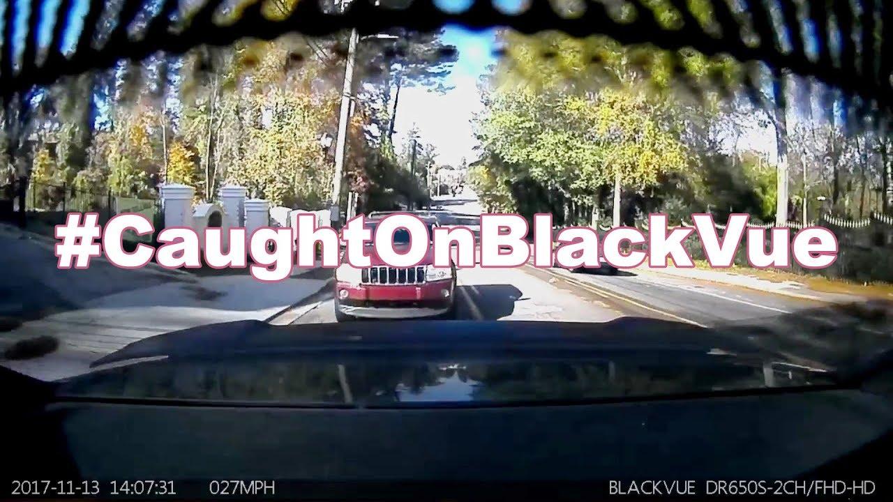 Rear End Collision #CaughtOnBlackVue