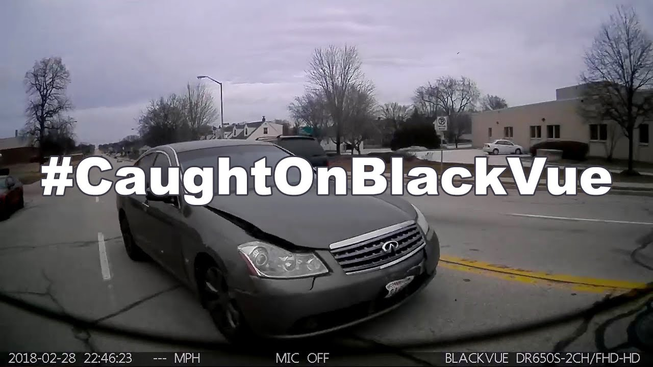 Never Saw It Coming – A Hit And Run #CaughtOnBlackVue!