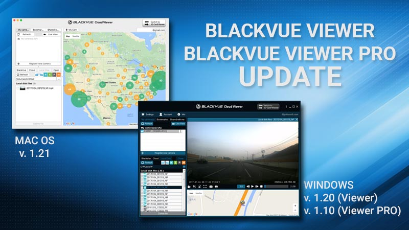 [Software] BlackVue Viewer and Viewer Pro Update
