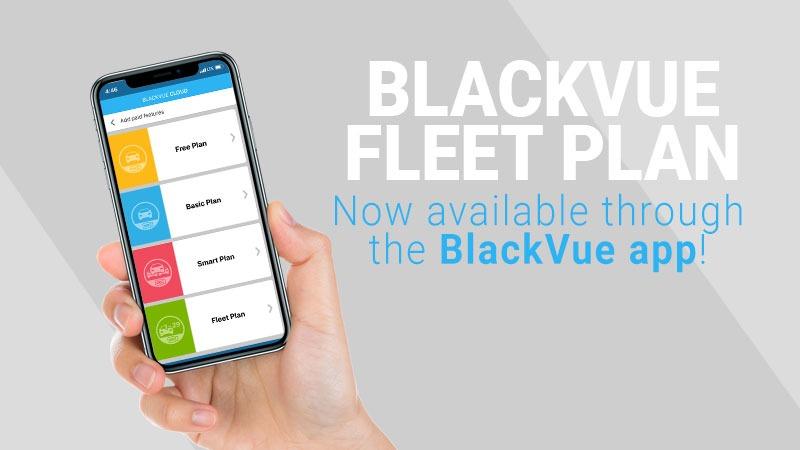 [BlackVue App] New Fleet Plan Now Accessible in the BlackVue App
