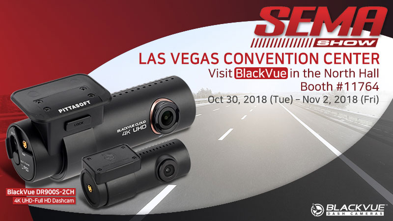[Trade Show] Visit BlackVue At the 2018 SEMA Show In Las Vegas
