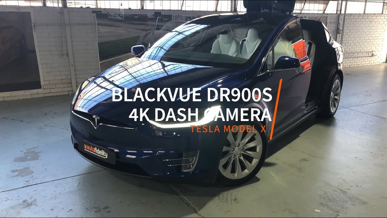 [Dashcam Install] BlackVue DR900S-2CH Perfectly Fitted in Tesla Model X
