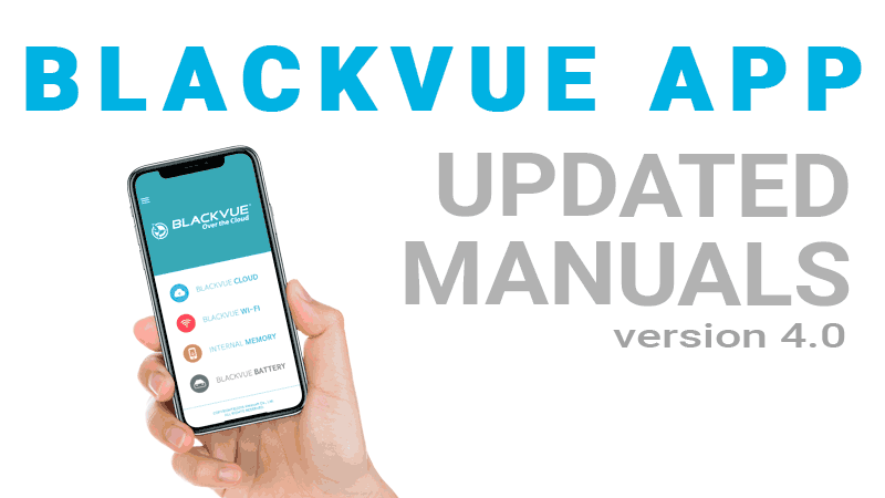 [BlackVue App] Updated App Manuals Available in Eleven Languages
