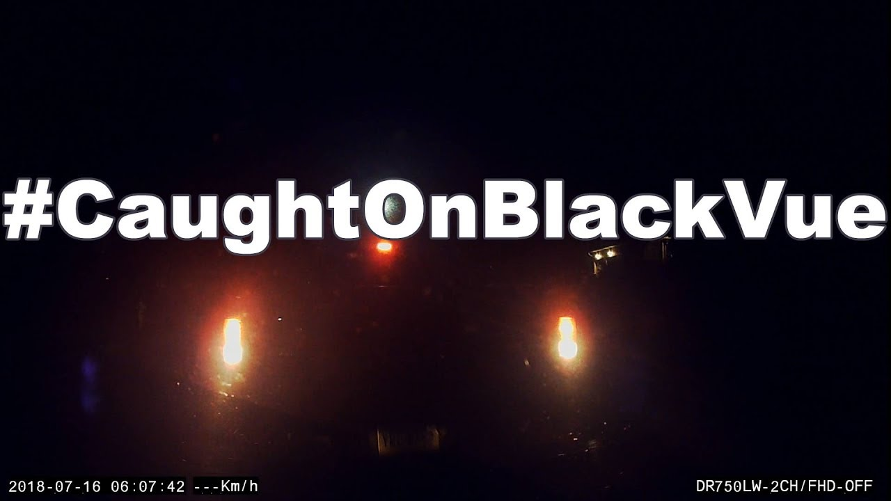 Late Night Hit & Run #CaughtOnBlackVue