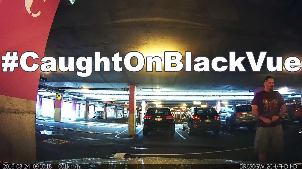 Shopping Mall Parking Vandal #CaughtOnBlackVue