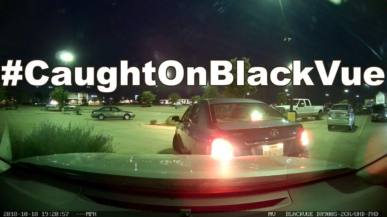 Parking Lot Hit & Run #CaughtOnBlackVue