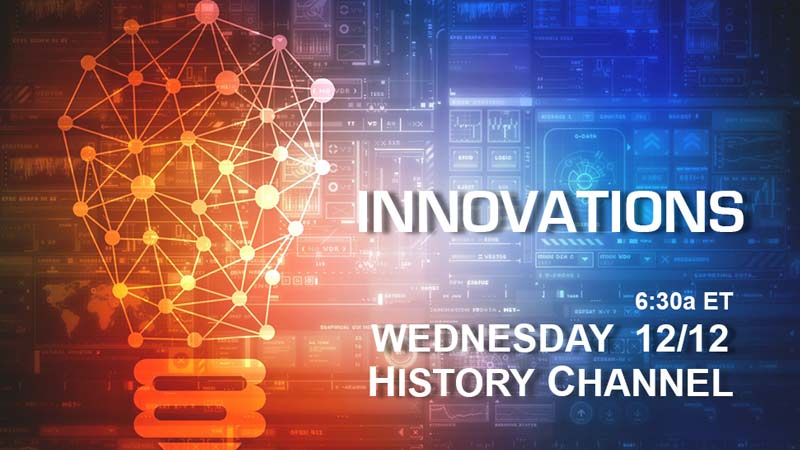 Watch BlackVue On Innovations Series On December 12th!