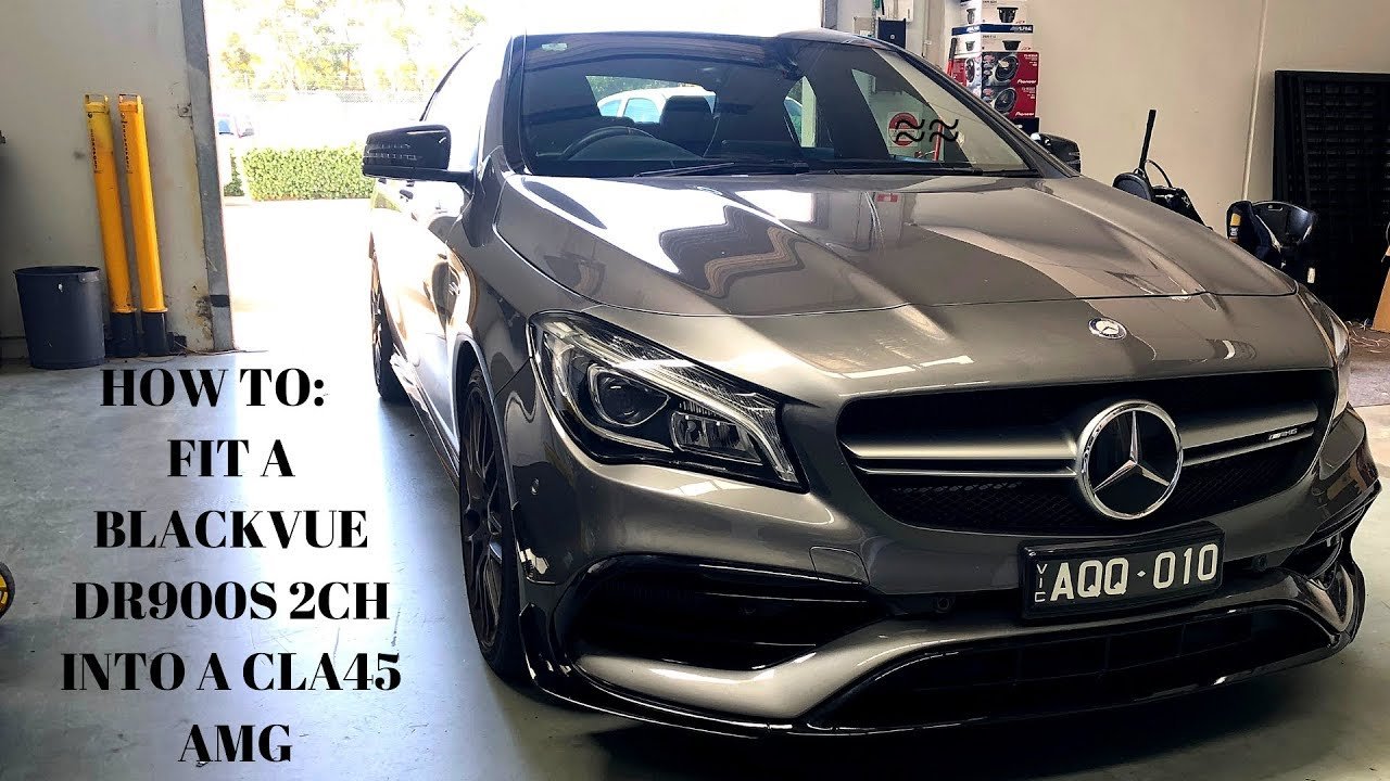 Detailed DR900S-2CH + Power Magic Pro Install In Mercedes CLA45